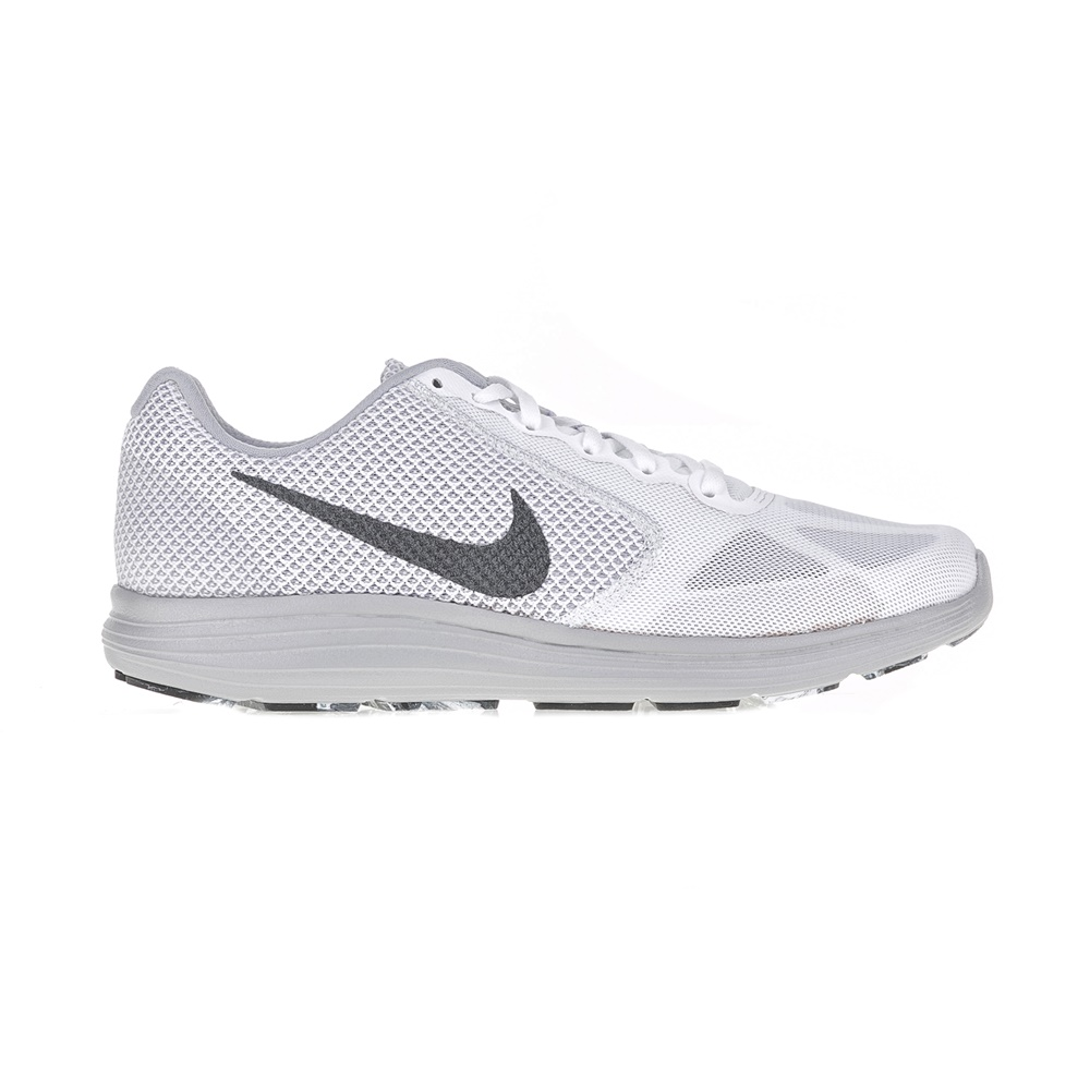 NIKE – Ανδρικά αθλητικά παπούτσια NIKE REVOLUTION 3 λευκά