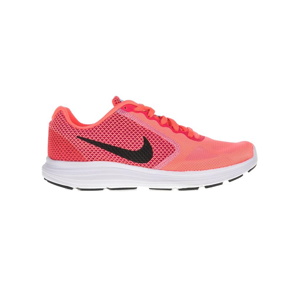 NIKE - Γυναικεία αθλητικά παπούτσια NIKE REVOLUTION 3 πορτοκαλί γυναικεία παπούτσια αθλητικά running