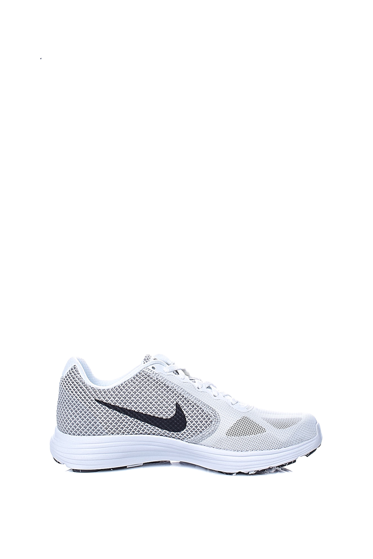 NIKE – Γυναικεία αθλητικά παπούτσια NIKE REVOLUTION 3 λευκά-μπεζ