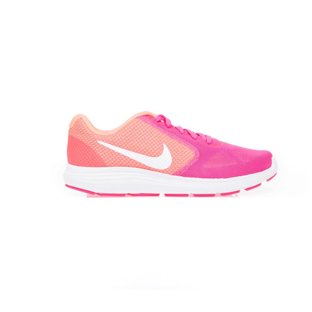 NIKE - Γυναικεία παπούτσια NIKE REVOLUTION 3 ροζ-πορτοκαλί