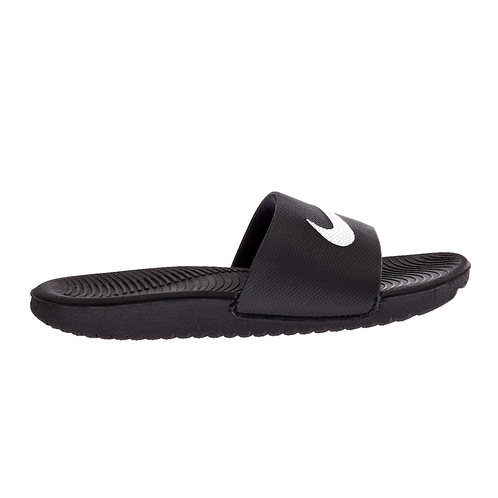 NIKE - Παιδικές παντόφλες NIKE KAWA SLIDE μαύρες παιδικά boys παπούτσια σαγιονάρες