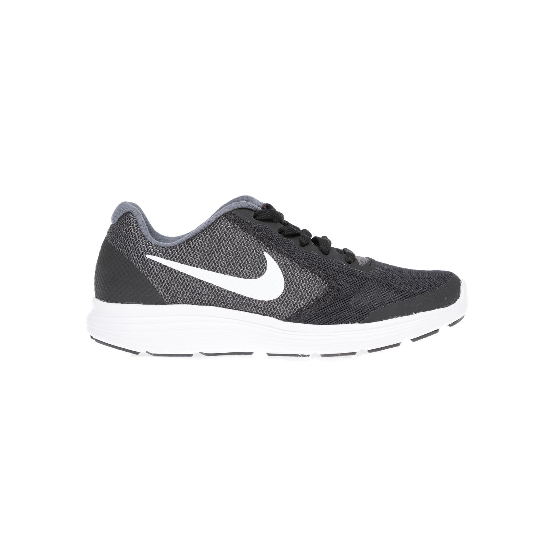NIKE – Παιδικά παπούτσια NIKE REVOLUTION 3 (GS) μαύρα