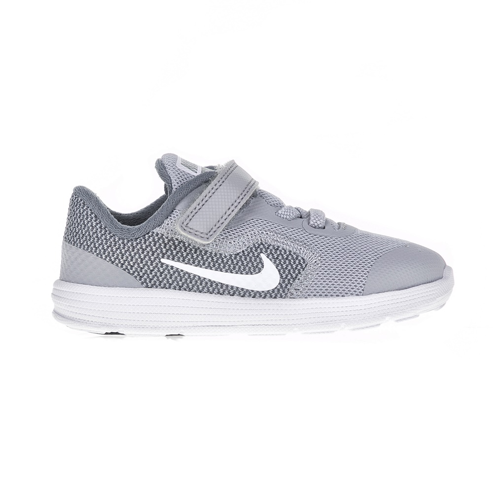 NIKE – Βρεφικά παπούτσια NIKE REVOLUTION 3 γκρι