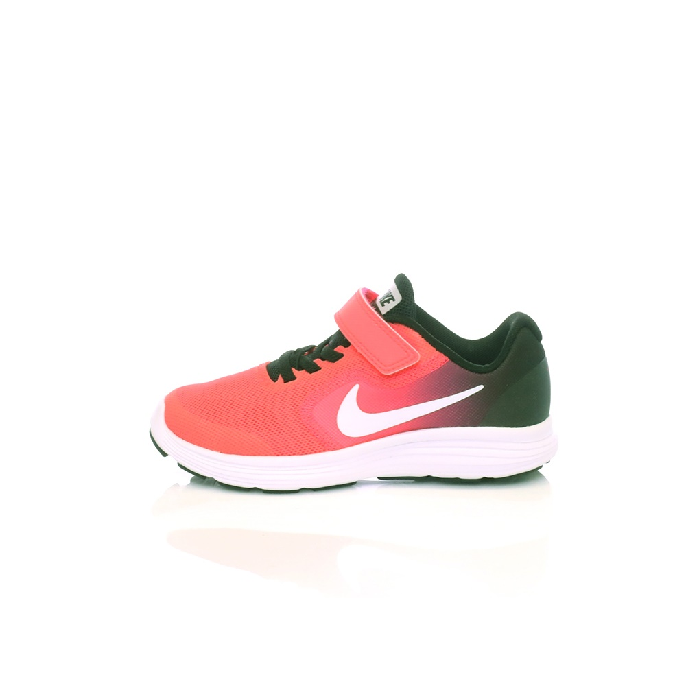NIKE – Παιδικά αθλητικά παπούτσια NIKE REVOLUTION 3 (PSV) κόκκινα-μαύρα