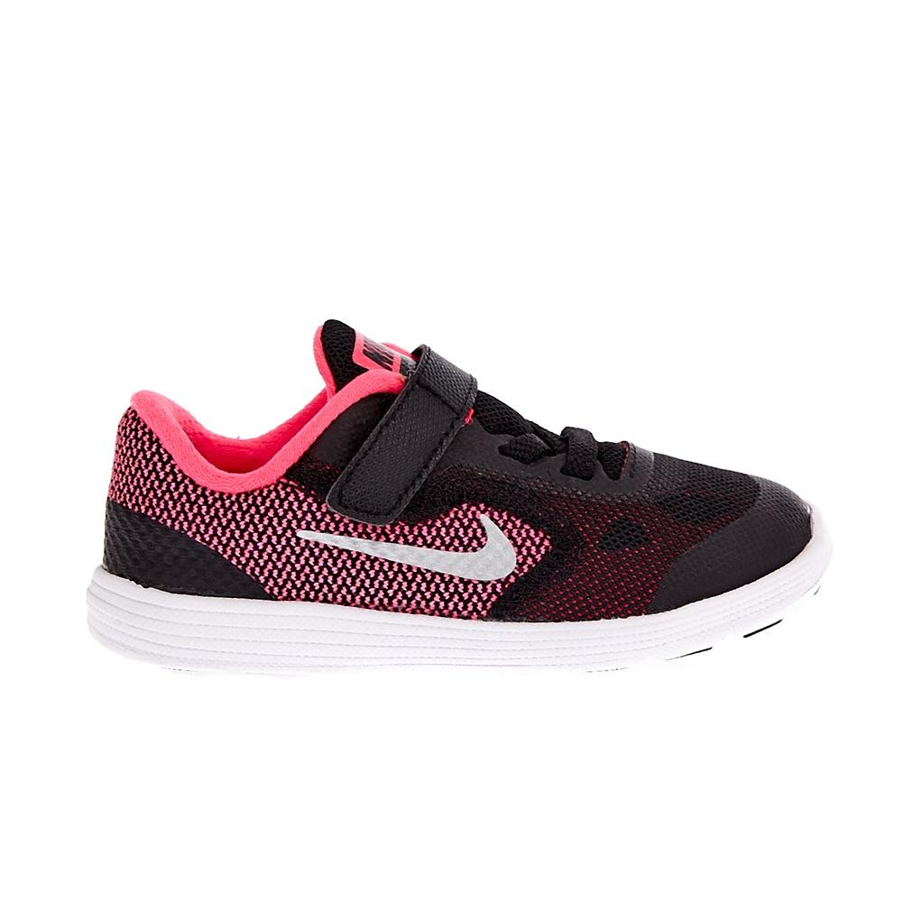 NIKE - Παιδικά αθλητικά παπούτσια NIKE REVOLUTION 3 μαύρα