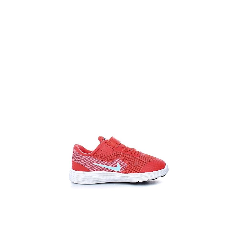 NIKE – Βρεφικά αθλητικά παπούτσια Nike REVOLUTION 3 (TDV) κόκκινα