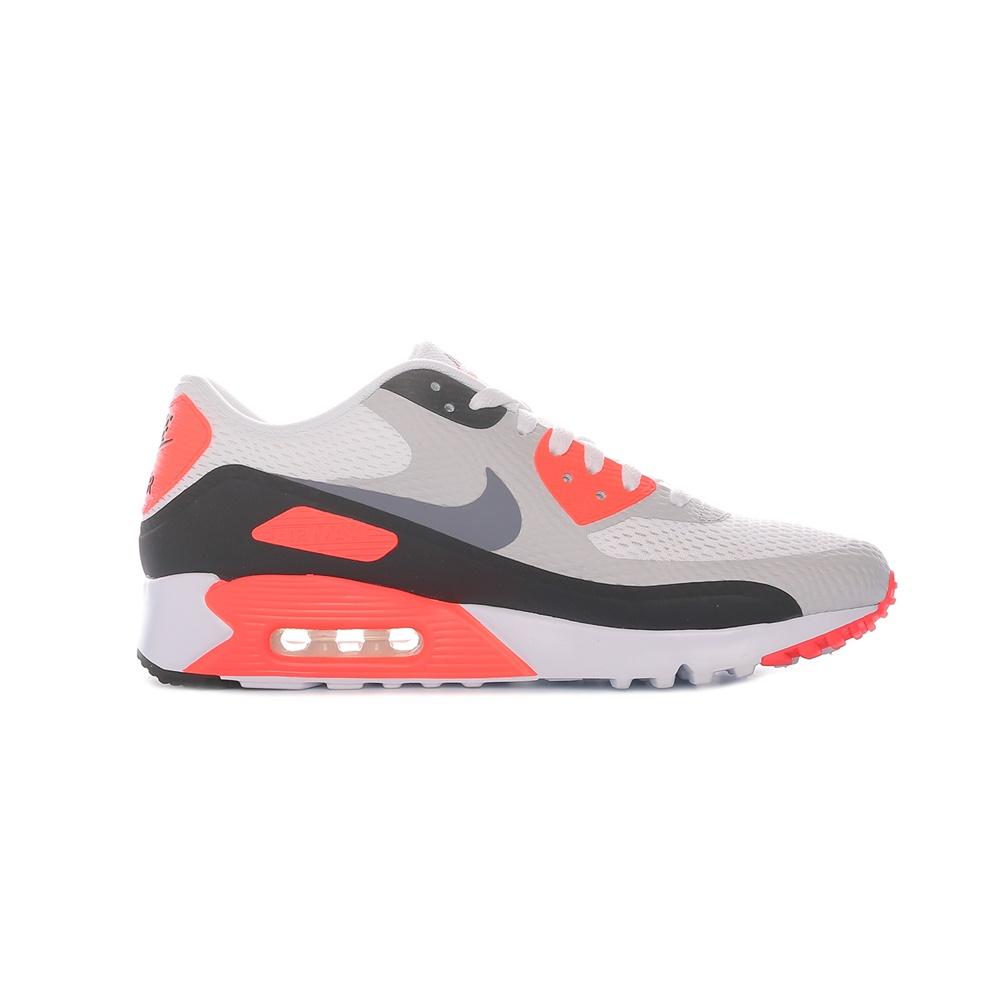 NIKE – Ανδρικά παπούτσια NIKE AIR MAX 90 ULTRA ESSENTIAL λευκά-γκρι