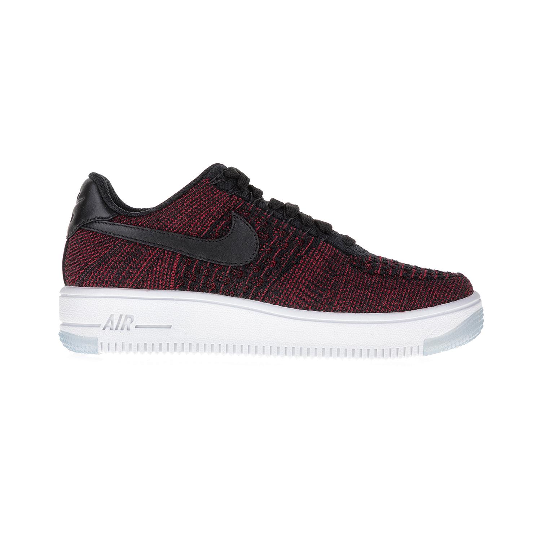 NIKE - Γυναικεία αθλητικά παπούτσια NIKE AF1 FLYKNIT LOW μαύρα-κόκκινα