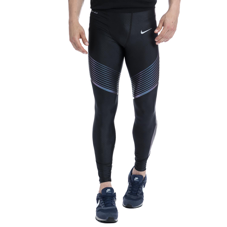 NIKE - Αντρικό αθλητικό κολάν NIKE μαύρο ανδρικά ρούχα αθλητικά κολάν
