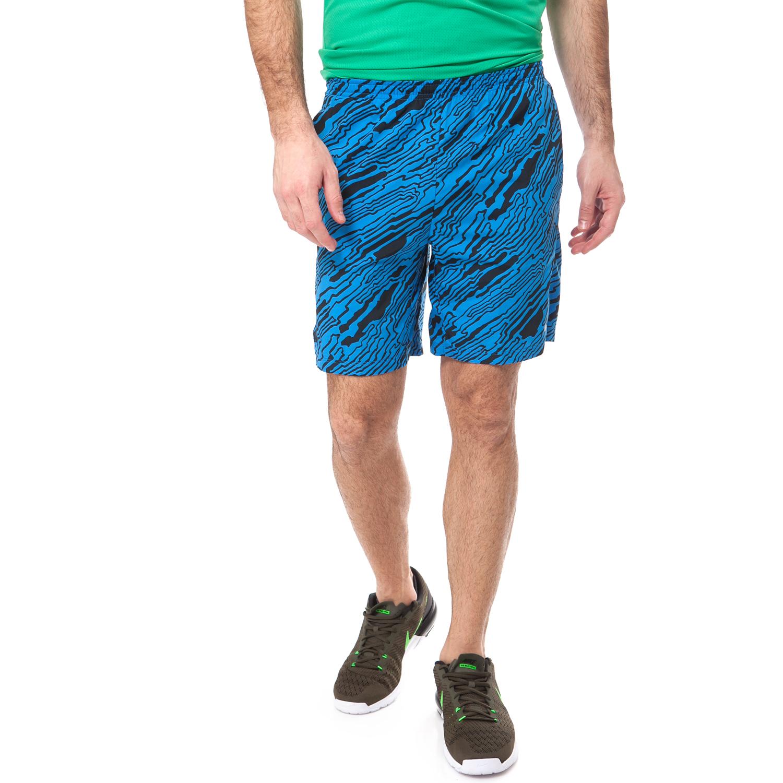 NIKE - Αντρικό σορτς NIKE μαύρο-μπλε ανδρικά ρούχα σορτς βερμούδες αθλητικά