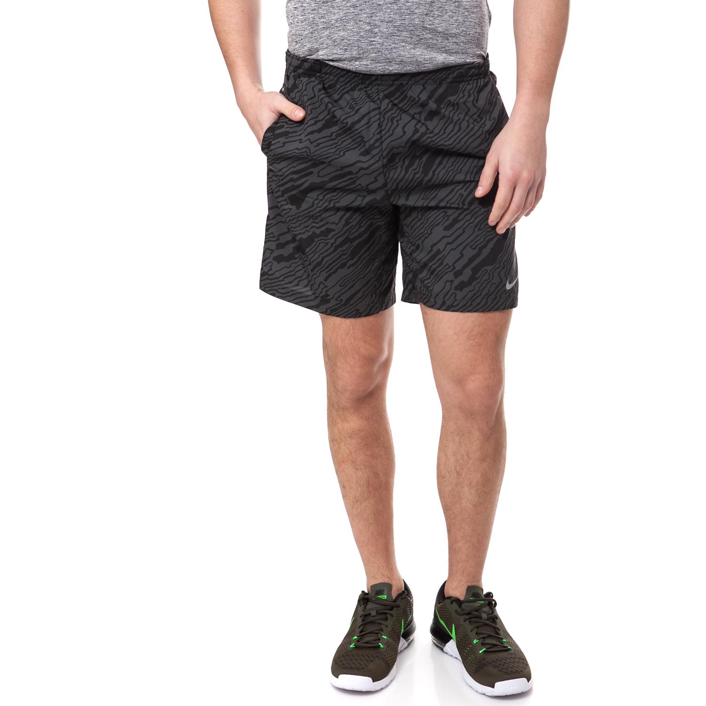 NIKE - Αντρικό σορτς NIKE μαύρο-γκρι ανδρικά ρούχα σορτς βερμούδες αθλητικά
