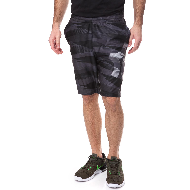 NIKE - Αντρική βερμούδα NIKE KD DAGGER ELITE μαύρη-γκρι ανδρικά ρούχα σορτς βερμούδες αθλητικά