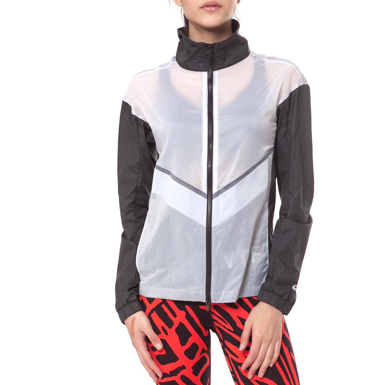 NIKE – Γυναικείο jacket NIKE RU ασπρόμαυρο