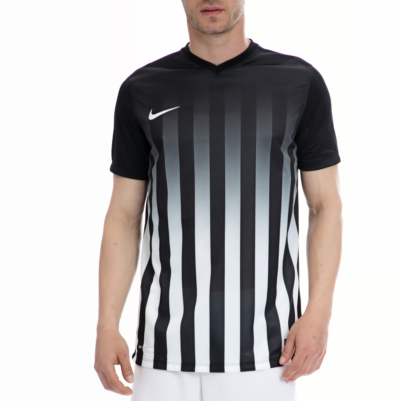 NIKE - Αντρική μπλούζα NIKE άσπρη-μαύρη ανδρικά ρούχα αθλητικά t shirt