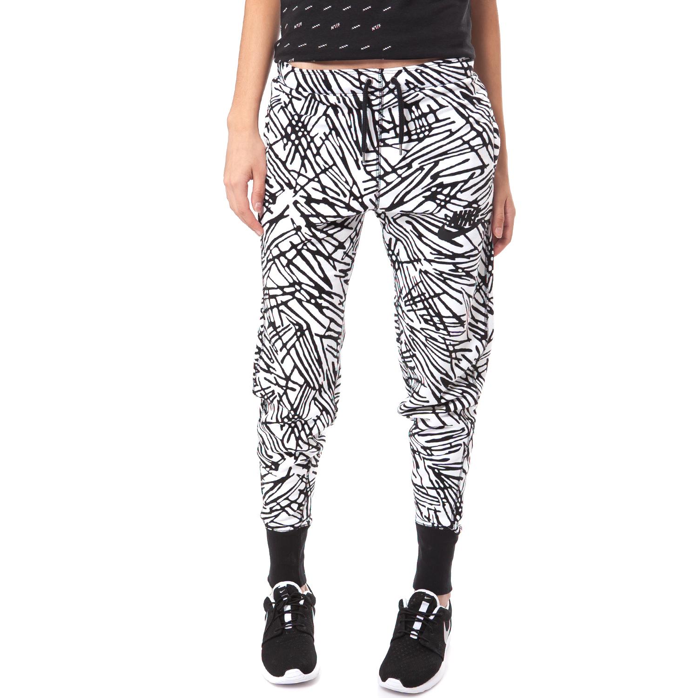 NIKE - Γυναικεία φόρμα Nike μαύρη-λευκή γυναικεία ρούχα αθλητικά φόρμες