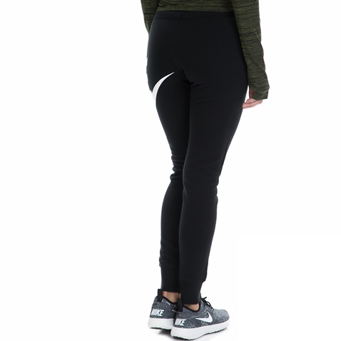 NIKE-Γυναικεία φόρμα NIKE RALLY PANT-TIGHT EXPLODED μαύρη-λευκή