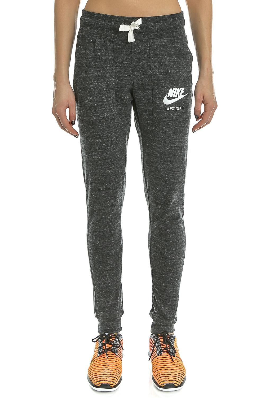 NIKE - Γυναικείο παντελόνι φόρμας Nike SW GYM VNTG γκρι γυναικεία ρούχα αθλητικά φόρμες