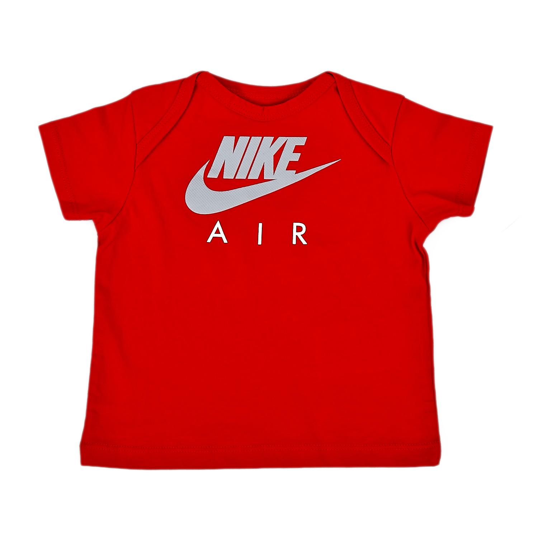 NIKE - Βρεφική μπλούζα Nike κόκκινη παιδικά baby ρούχα αθλητικά
