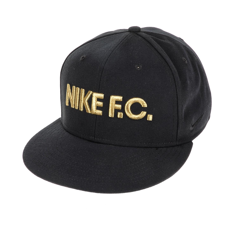 NIKE – Αθλητικό καπέλο NΙKΕ FC TRUE CAP CLASSIC μαύρο-χρυσό