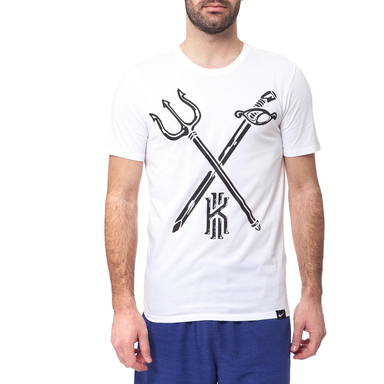 NIKE - Ανδρικό t-shirt Nike KYRIE KILLER CROSSOVER λευκό ανδρικά ρούχα αθλητικά t shirt