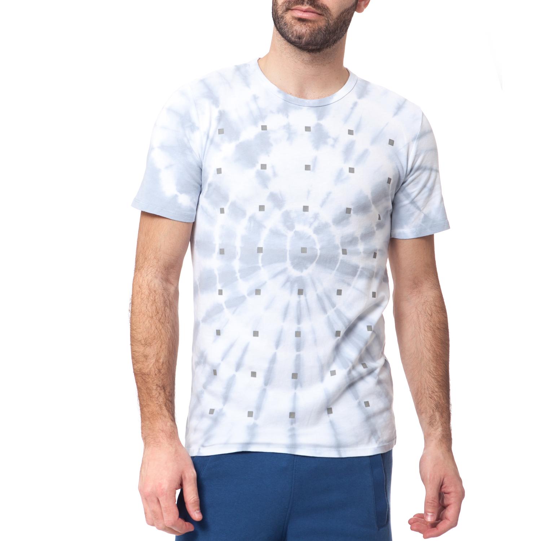 NIKE - Ανδρικό t-shirt NIKE TEE-S+ FREE FLYKNIT ανοιχτό γκρι ανδρικά ρούχα αθλητικά t shirt