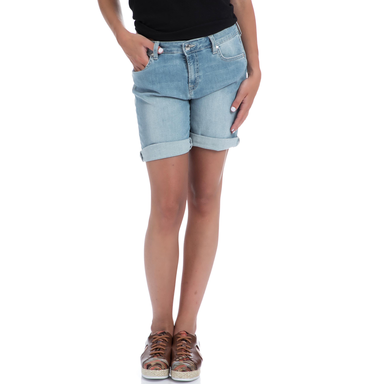 GAS - Γυναικεία τζιν βερμούδα Gas μπλε γυναικεία ρούχα σορτς βερμούδες casual jean