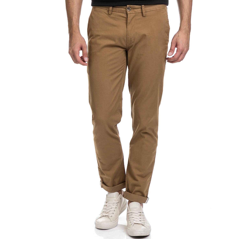 BEN SHERMAN – Ανδρικό παντελόνι BEN SHERMAN καφέ