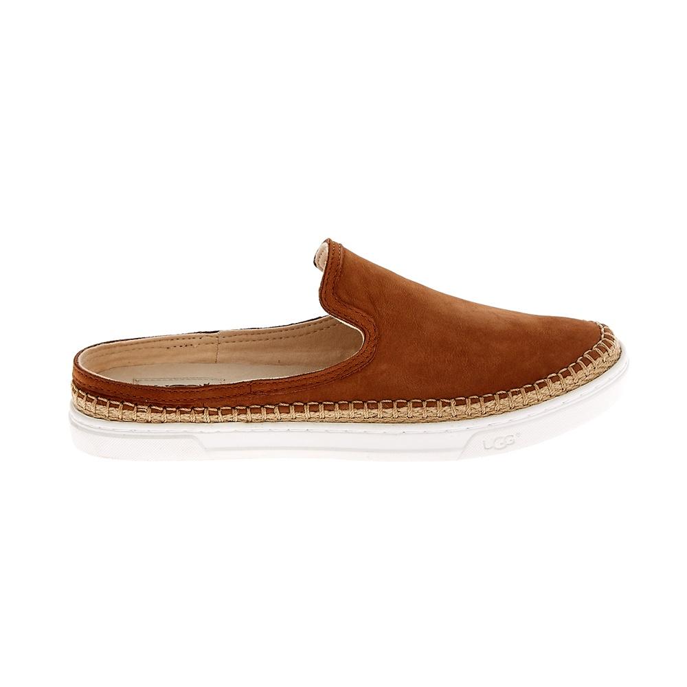 UGG AUSTRALIA - Γυναικείες slip-on εσπαντρίγιε UGG CALEEL καφέ ανδρικά παπούτσια εσπαντρίγιες