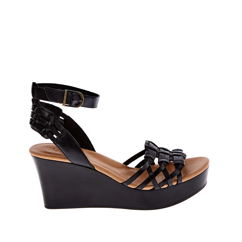 UGG AUSTRALIA - Γυναικείες πλατφόρμες UGG FARRAH μαύρες γυναικεία παπούτσια πλατφόρμες