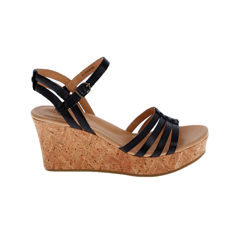 UGG - Γυναικείες πλατφόρμες UGG BRIGITTE μαύρες γυναικεία παπούτσια πλατφόρμες