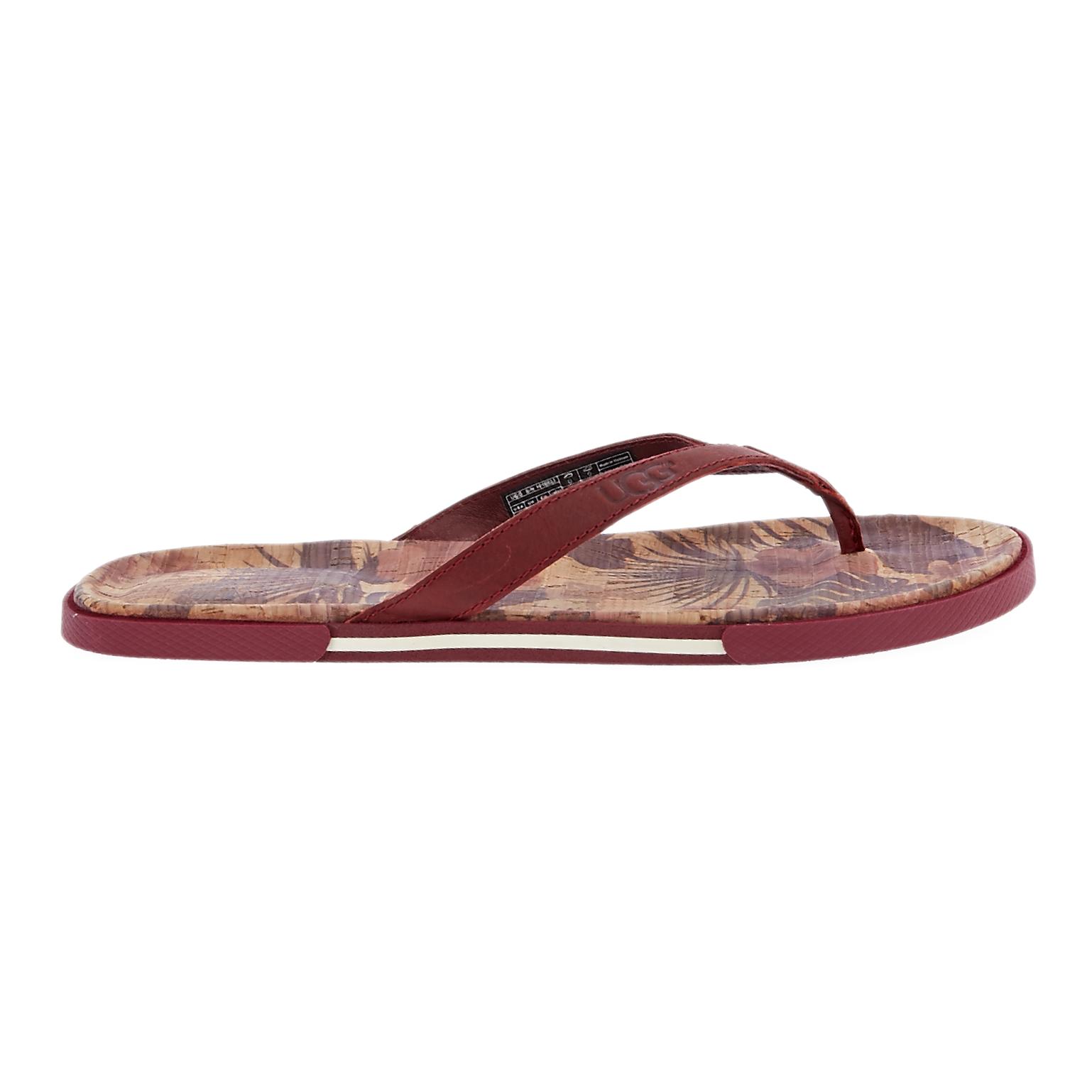 UGG AUSTRALIA - Ανδρικές σαγιονάρες UGG BENNISON II HAWAIIAN καφέ ανδρικά παπούτσια σαγιονάρες