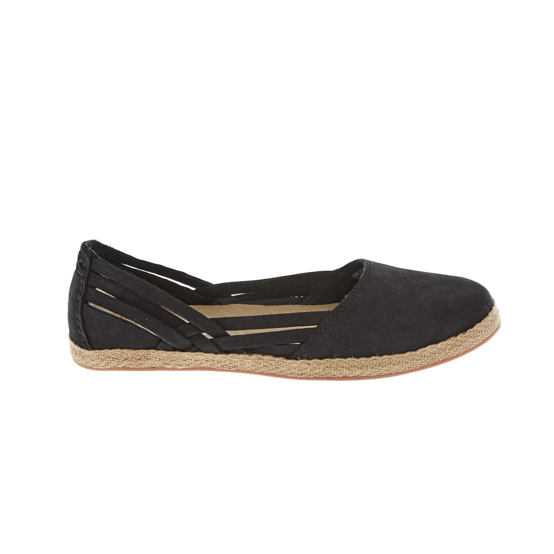 UGG AUSTRALIA - Γυναικείες εσπαντρίγιες UGG TIPPIE μαύρες γυναικεία παπούτσια μοκασίνια μπαλαρίνες μοκασίνια