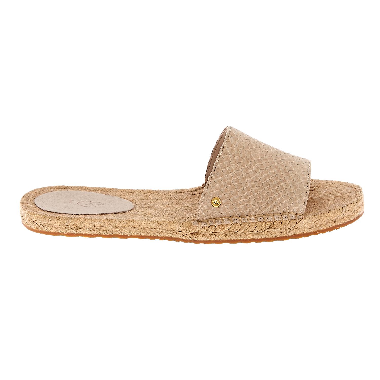 UGG AUSTRALIA - Γυναικεία flat mules UGG CHERRY EXOTIC μπεζ γυναικεία παπούτσια σανδάλια