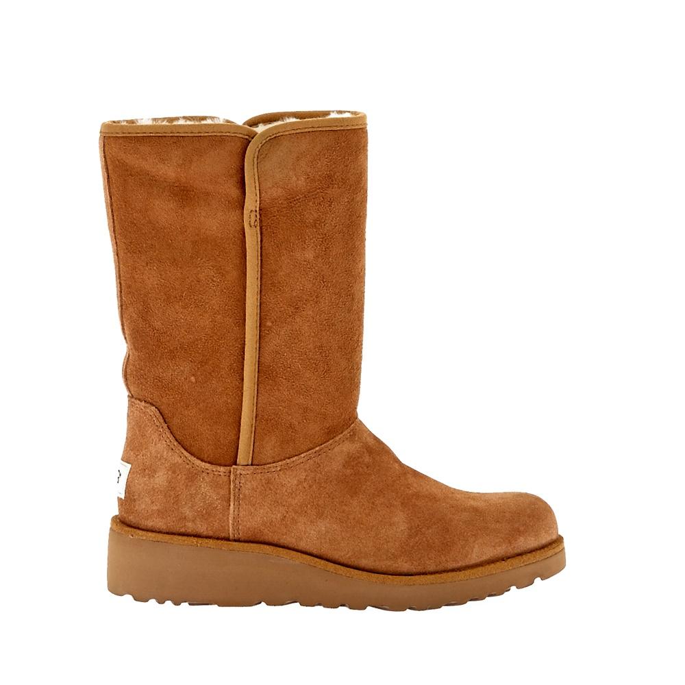 UGG AUSTRALIA - Γυναικείες μπότες Ugg Australia καφέ γυναικεία παπούτσια μπότες μποτάκια μπότες