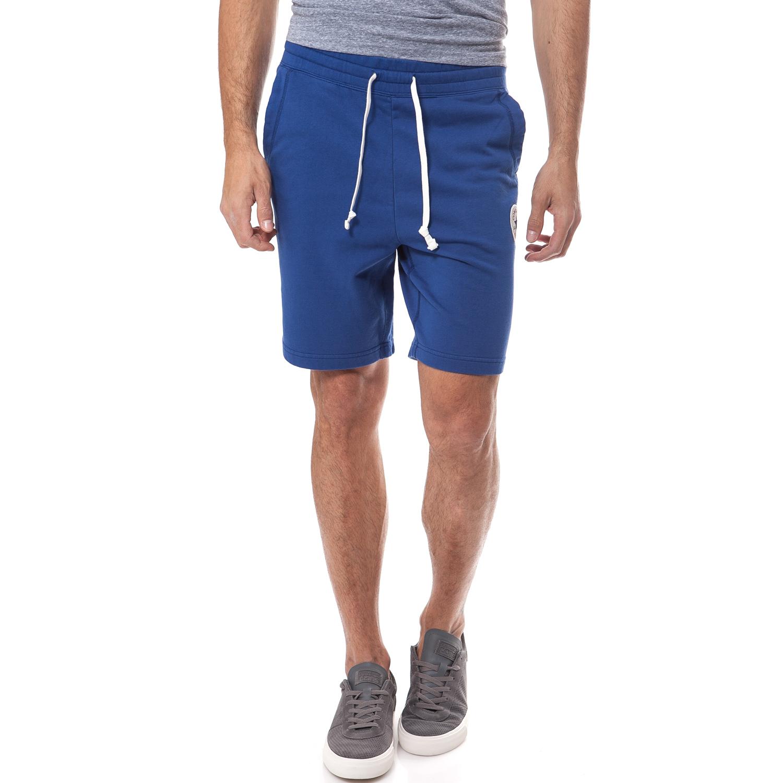 CONVERSE - Ανδρική βερμούδα Converse μπλε ανδρικά ρούχα σορτς βερμούδες αθλητικά