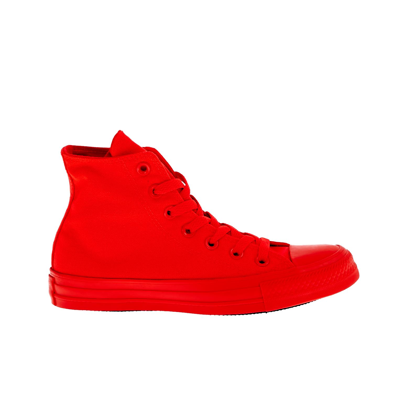 CONVERSE - Unisex παπούτσια Chuck Taylor All Star Hi κόκκινα ανδρικά παπούτσια sneakers