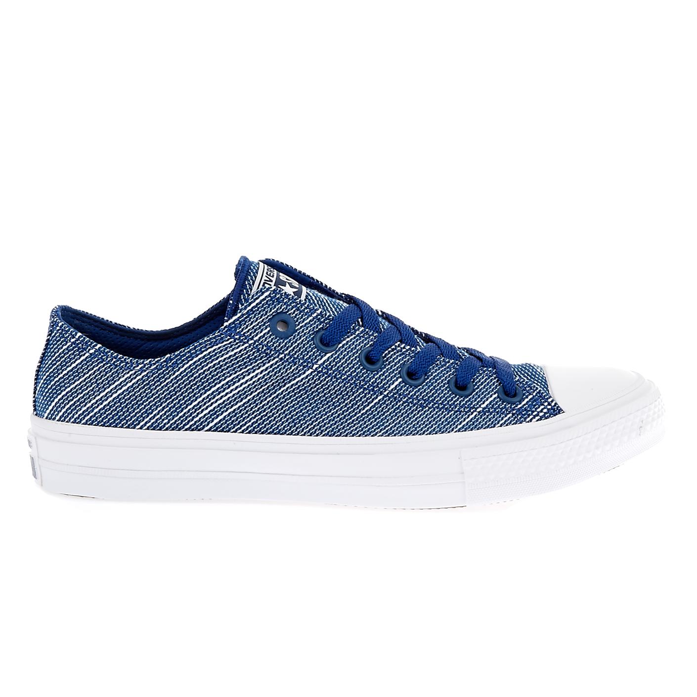 CONVERSE - Unisex παπούτσια Chuck Taylor All Star II Ox μπλε γυναικεία παπούτσια sneakers