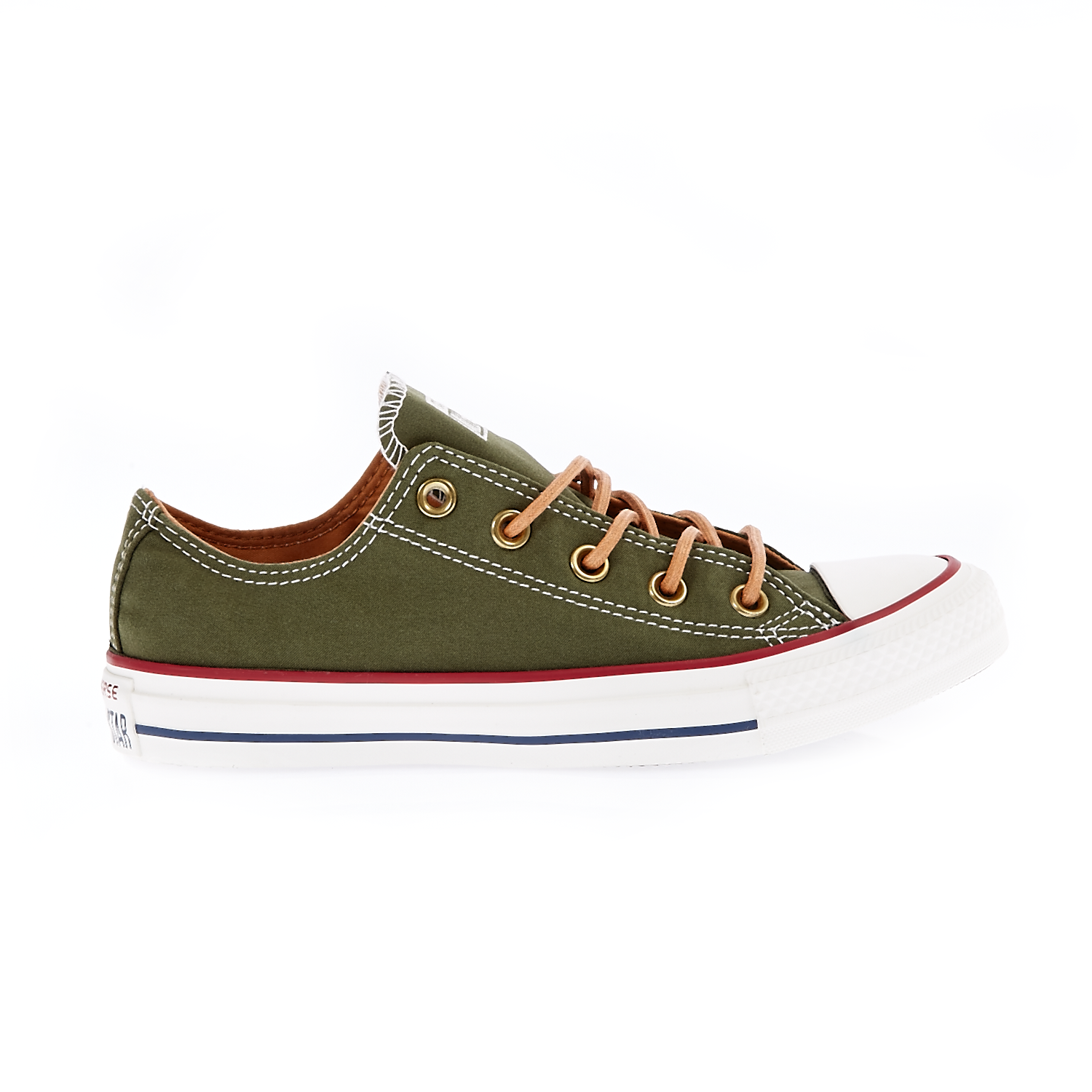 b96a7b38bee CONVERSE - Unisex παπούτσια Chuck Taylor All Star Ox λαδί-χακί