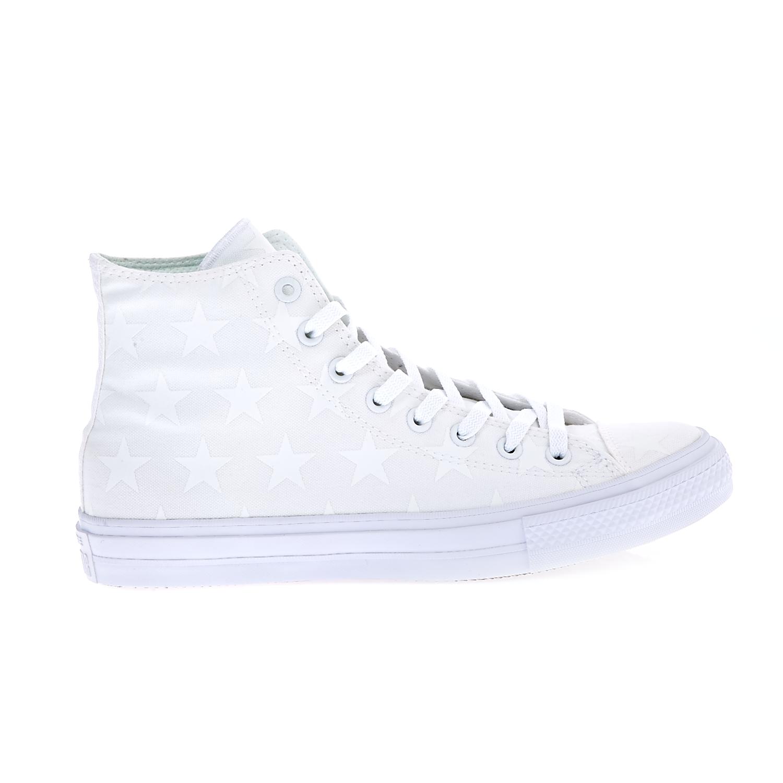 CONVERSE - Unisex παπούτσια Chuck Taylor All Star II Hi λευκά ανδρικά παπούτσια sneakers