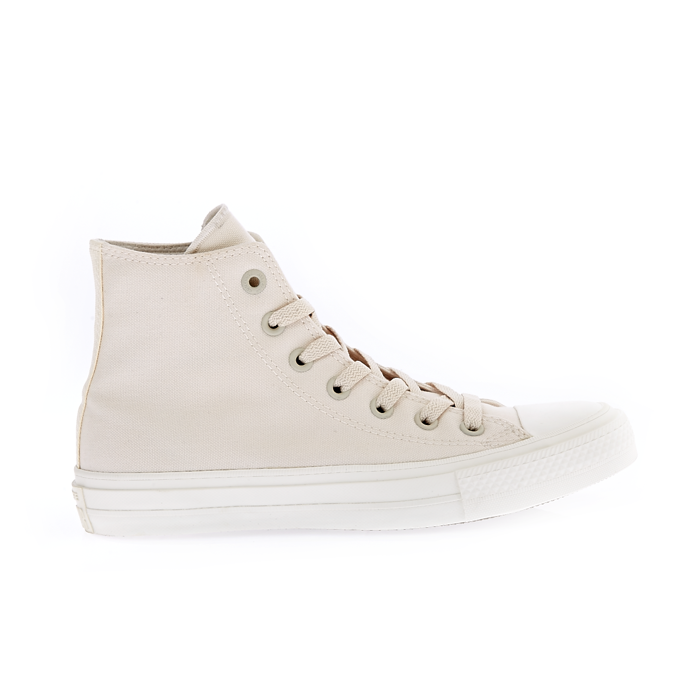 CONVERSE – Unisex παπούτσια Chuck Taylor All Star II Hi μπεζ