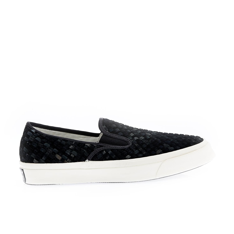 CONVERSE – Unisex παπούτσια Deck Star Slip μαύρα