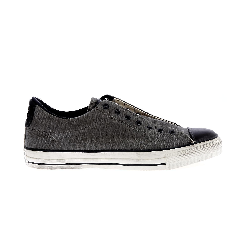 2d76fad7ec61 CONVERSE - Unisex παπούτσια Chuck Taylor All Star Vintage ανθρακί-μαύρα