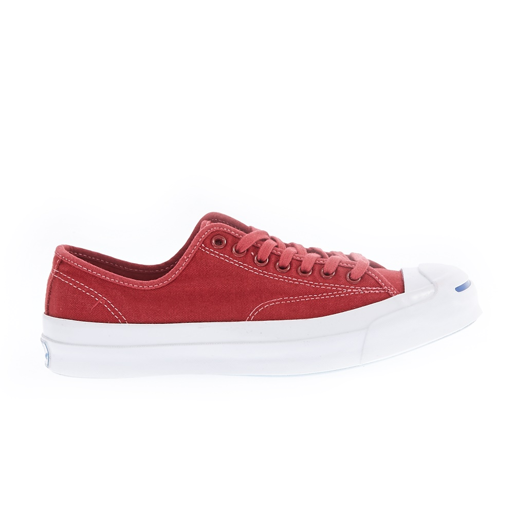 CONVERSE - Unisex παπούτσια Jack Purcell Signature Ox κόκκινα ανδρικά παπούτσια sneakers