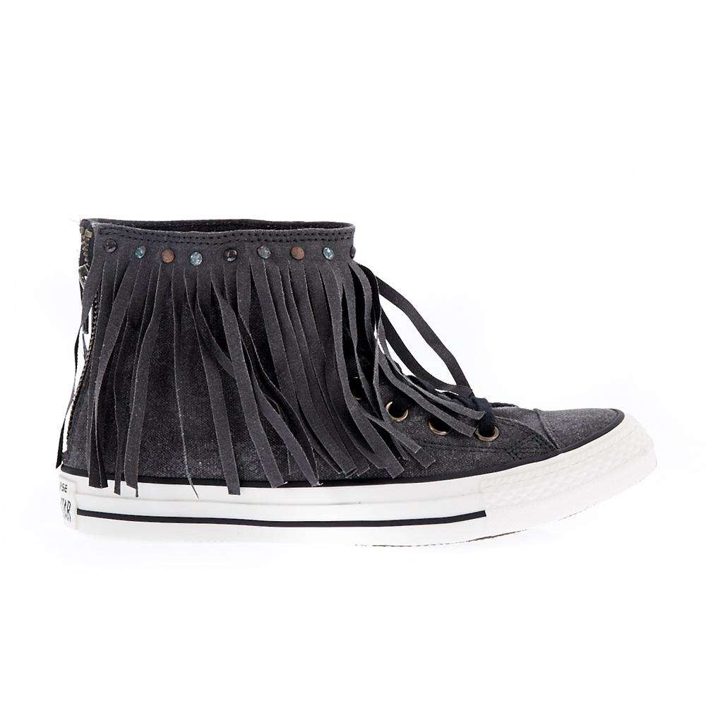 CONVERSE – Γυναικεία παπούτσια Chuck Taylor All Star Fringe H μαύρα-γκρι