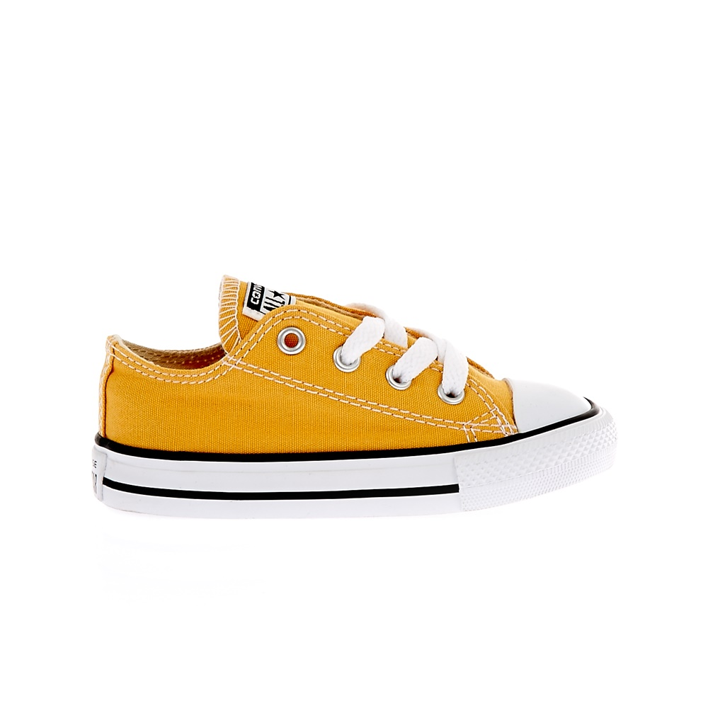 CONVERSE - Βρεφικά παπούτσια Chuck Taylor All Star Ox κίτρινα-πορτοκαλί
