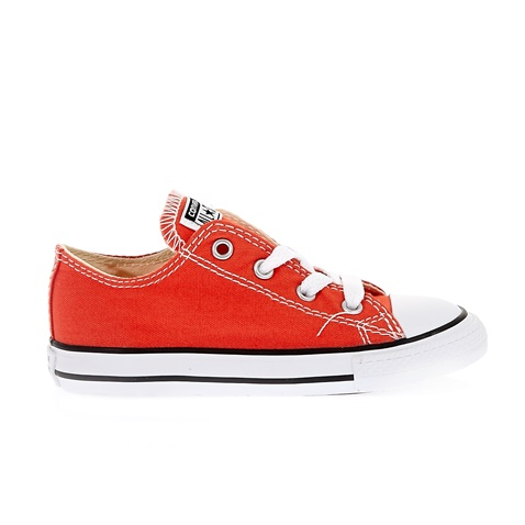 CONVERSE-Βρεφικά παπούτσια Chuck Taylor All Star Ox κεραμιδί-πορτοκαλί