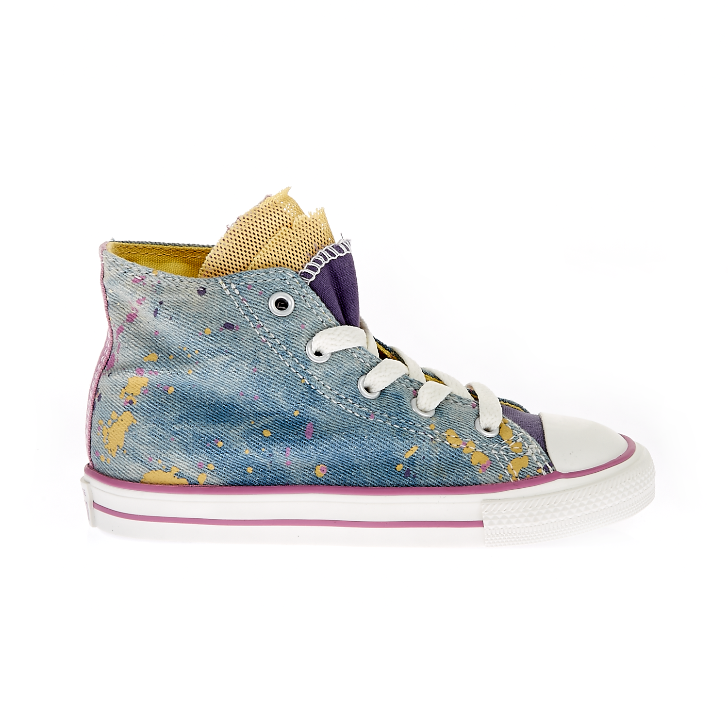 CONVERSE - Βρεφικά παπούτσια Chuck Taylor All Star Party Hi μπλε