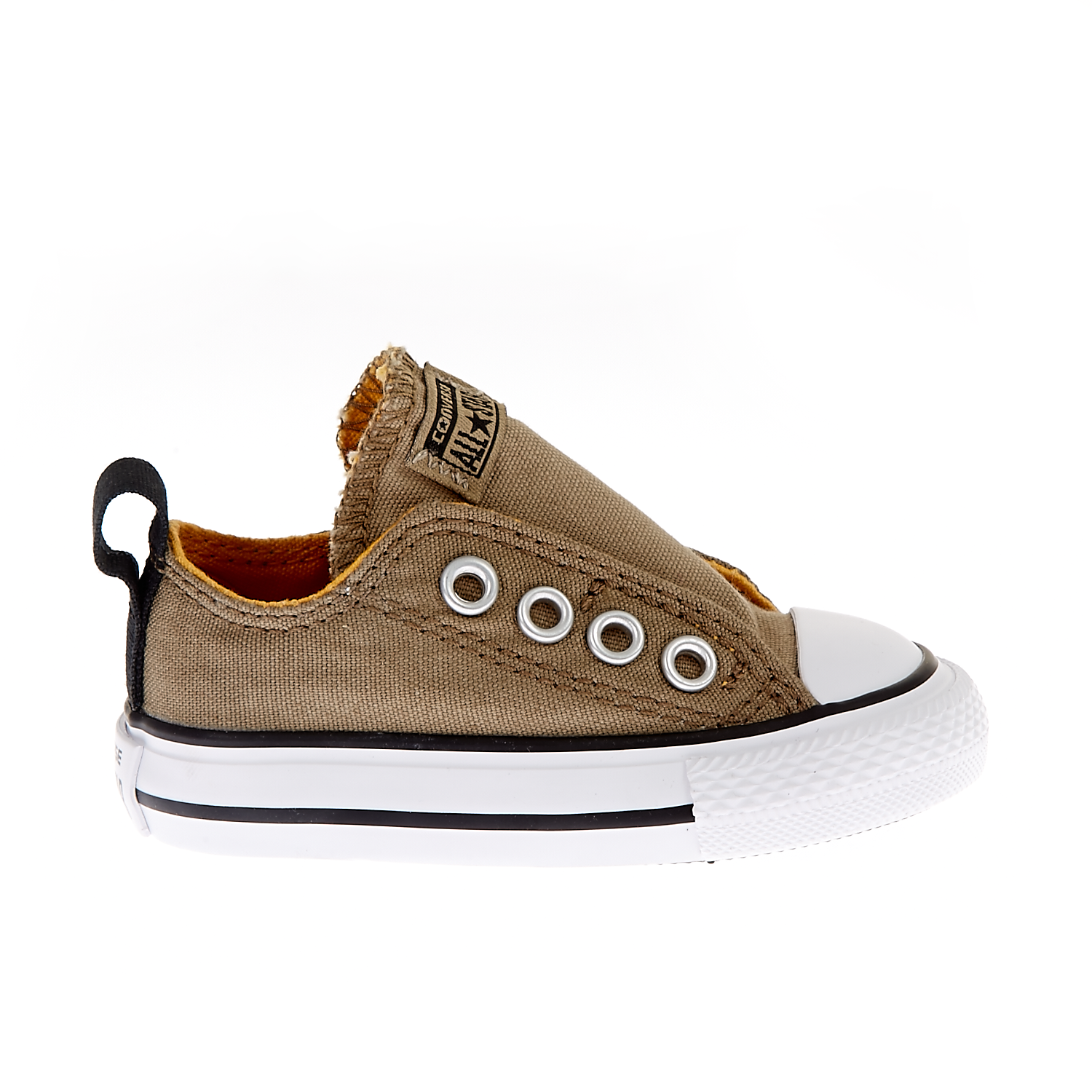 CONVERSE – Βρεφικά παπούστια Chuck Taylor All Star Simple S μπεζ