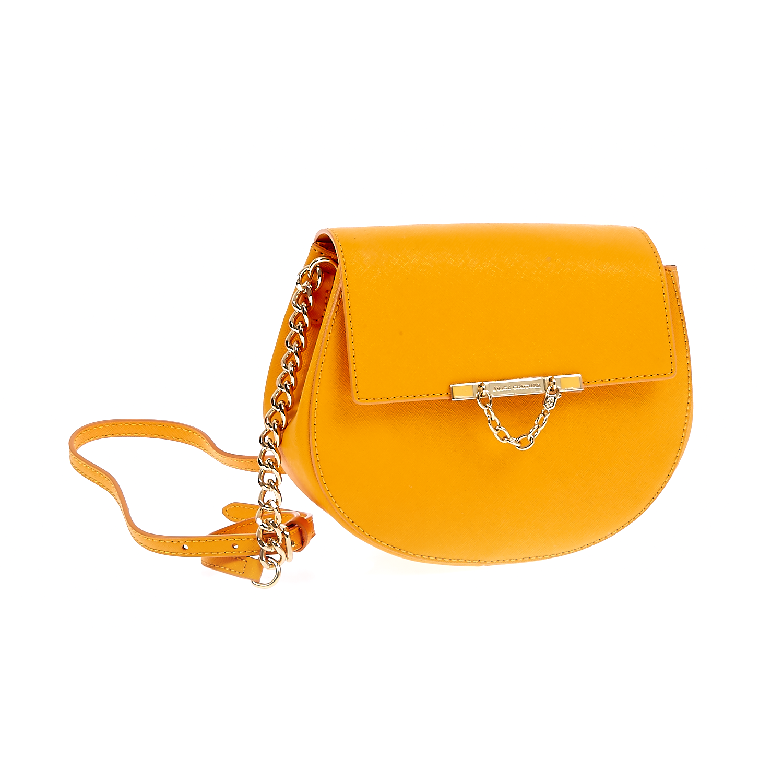 JUICY COUTURE - Δερμάτινη τσάντα Mini J γυναικεία αξεσουάρ τσάντες σακίδια ωμου