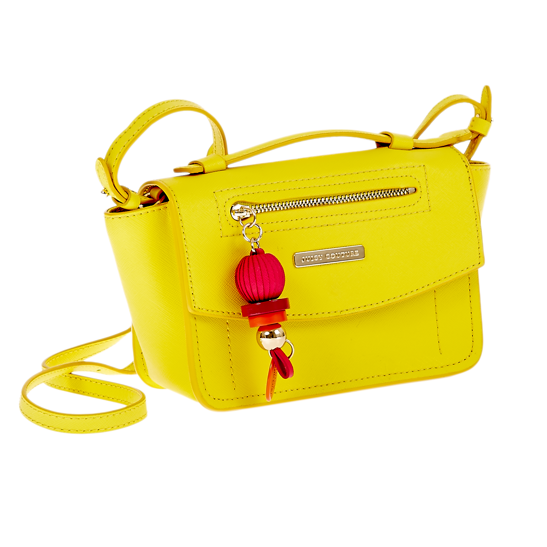 JUICY COUTURE – Γυναικεία τσάντα Juicy Couture κίτρινη 1441260.0-0052